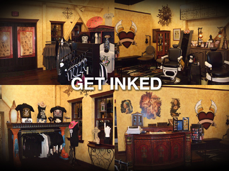 "The Hard Rock Park ""Get Inked: Tattoo Parlor"" by Life is a Beach;"