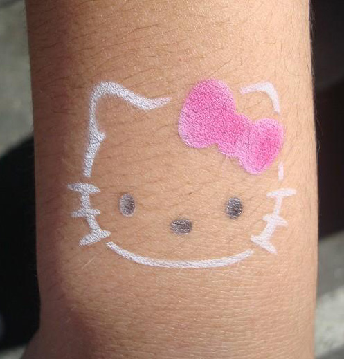 Tattooing for a Worthy Cause » hello kitty