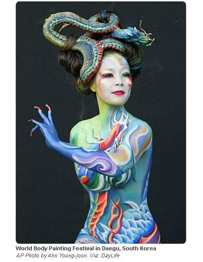 Best Festival Body Painting